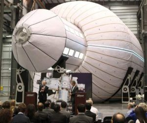 NASA inflatable space capsule2