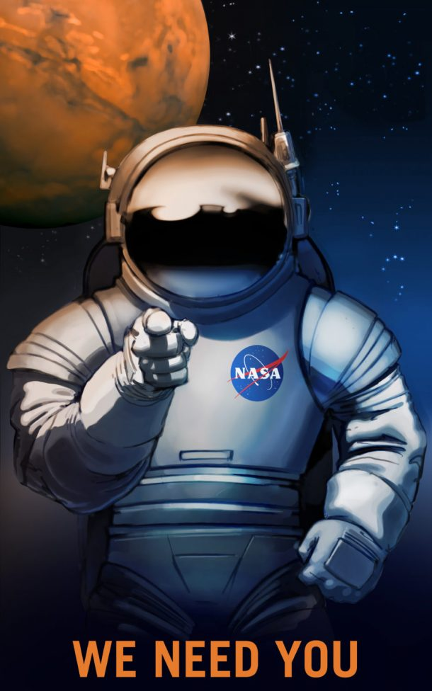 NASA's Recruitment Posters Are Looking For Mars Explorers_Image 1