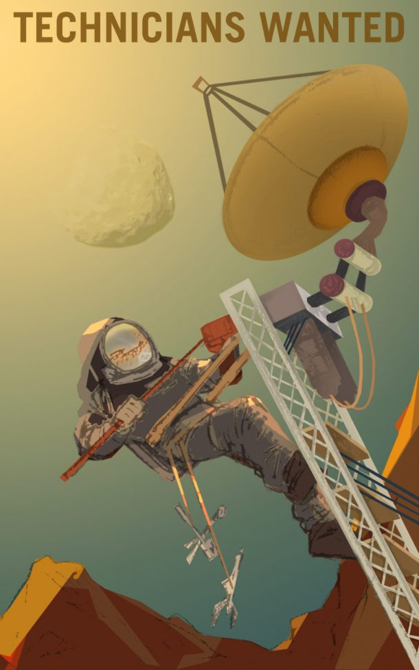 NASA's Recruitment Posters Are Looking For Mars Explorers_Image 3