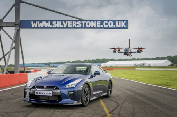 Nissan GT-R Races A Custom Drone At 115 MPH_Image 0