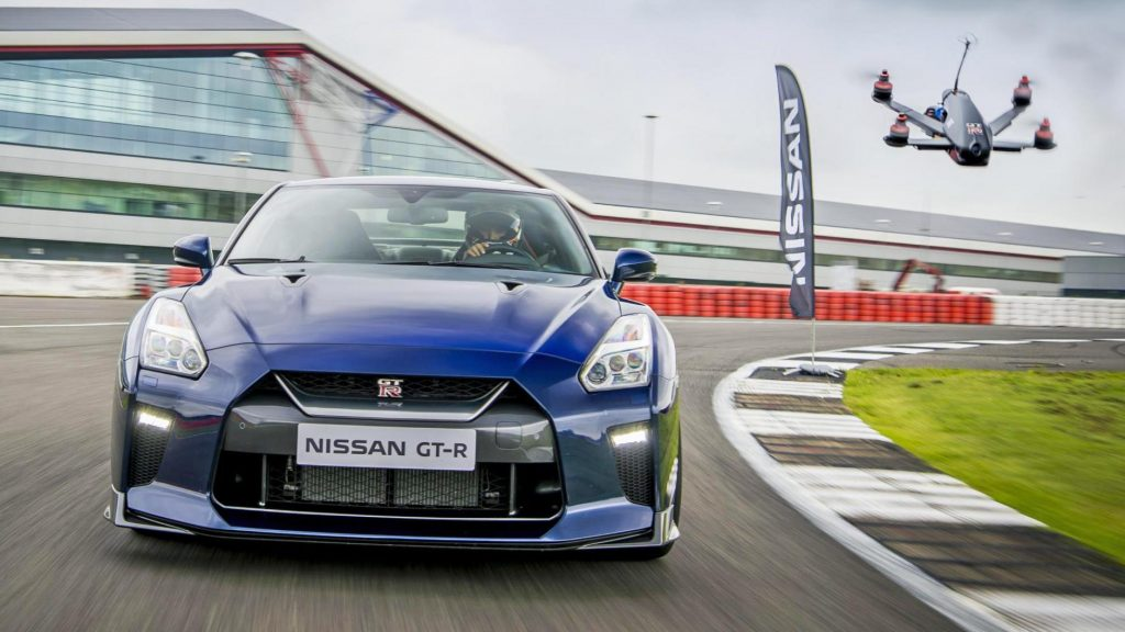 Nissan GT-R Races A Custom Drone At 115 MPH_Image 1