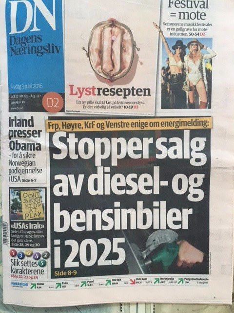 No More Petrol Powered Cars In Norway By 2025_Image 2