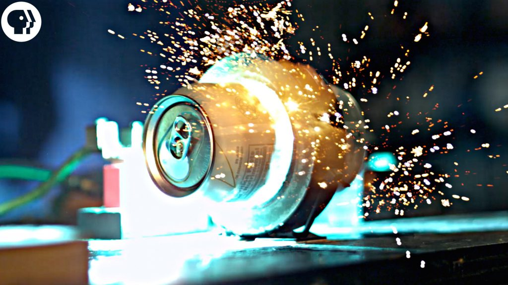 Powerful Electromagnets Explode Soda Cans In Slow-Motion_Image 2