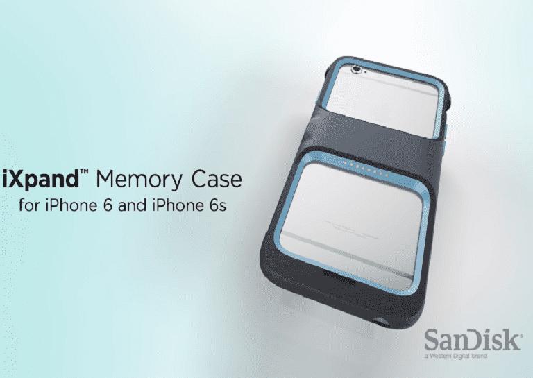 Sandisk memory case