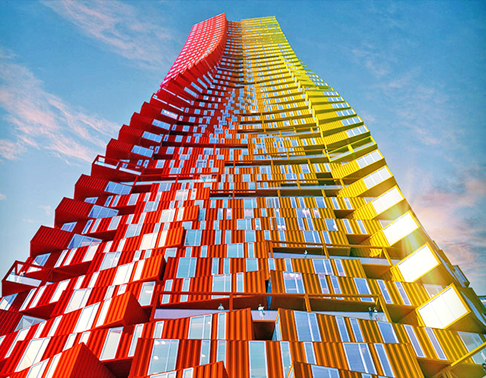 Six Incredible Buildings Made Out Of Shipping Containers_Image 3