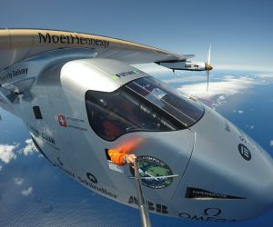 Solar Impulse Flies Over The Atlantic Powered By Sun_Image 1