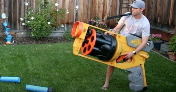 The World's Largest DIY Nerf Gun Goes At 40mph_Image 1