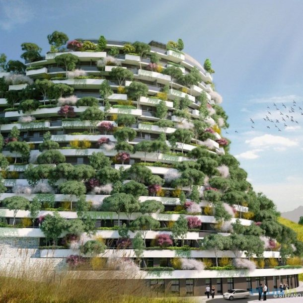 Vertical Forests Revolutionizes the Concept Of Green Architecture_Image 1