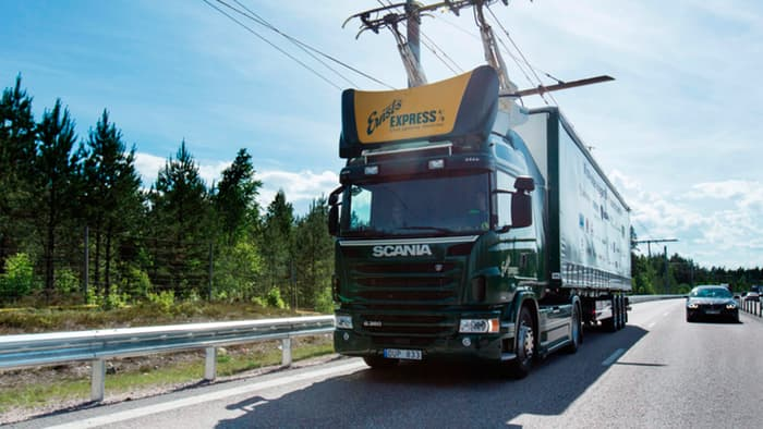 Sweden Constructs An Electric Highway For Hybrid Trucks