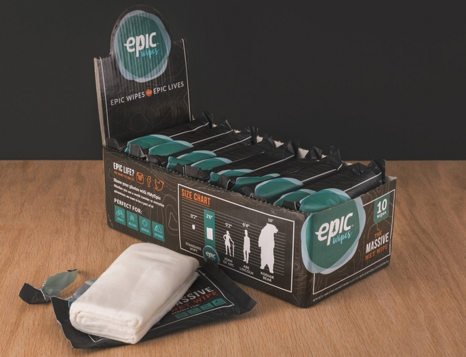 epic wet wipes