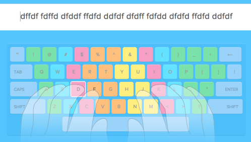 fast typing on touch pad, rules for improving typing speed on the touch keypad, improving typing skills on a touch keypad_Image 1