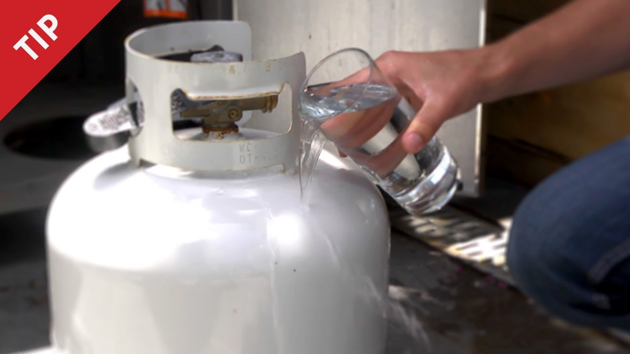 This Woman Pours Water On Her Propane Tank After Every Bbq
