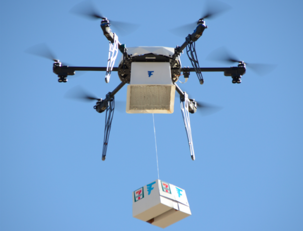 7-Eleven Beats Google and Amazon To The First Slurpee Delivery By Drone_Image 1