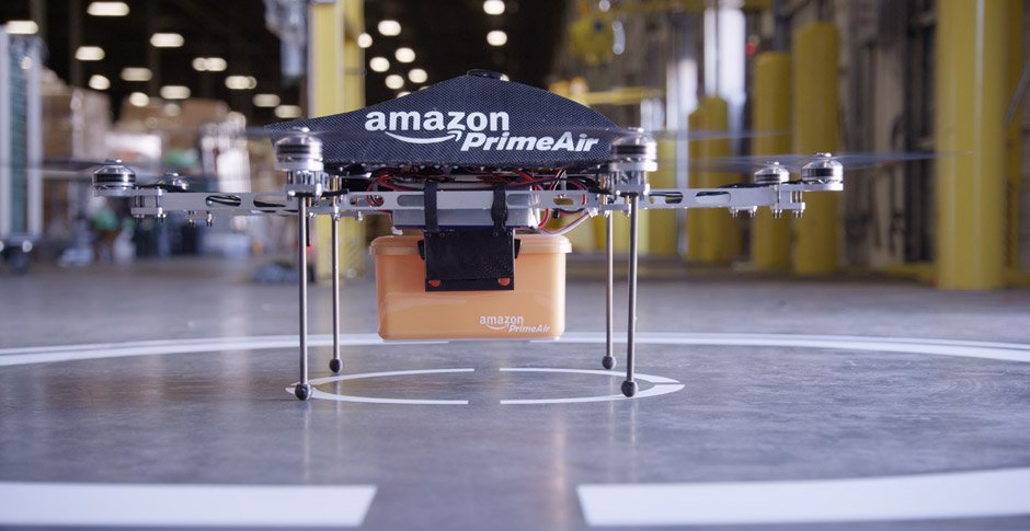 Amazon Plans To Use Street Lights And Power Poles As Charging Stations For Its Drones_Image 0