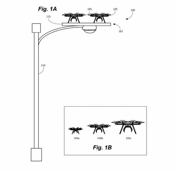 Amazon Plans To Use Street Lights And Power Poles As Charging Stations For Its Drones_Image 1