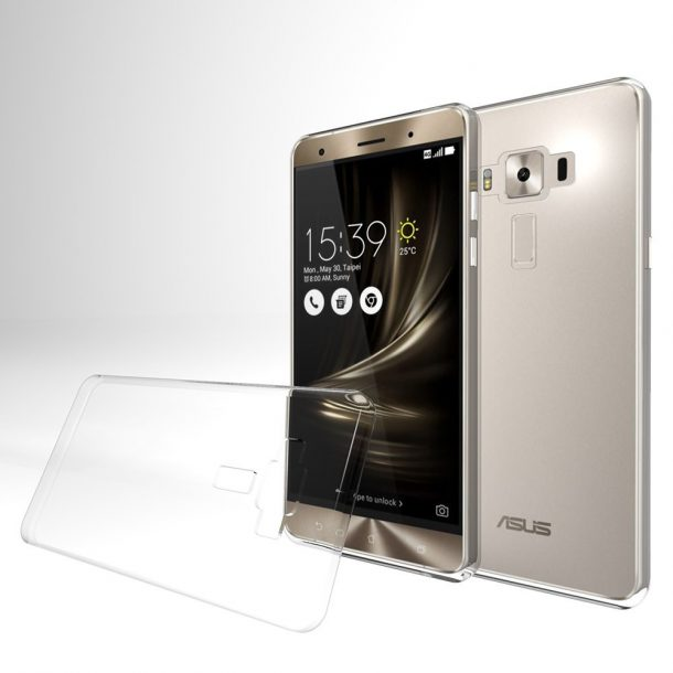 Asus Zenfone 3 Case, [Clear] Slim & Flexible Anti-shock