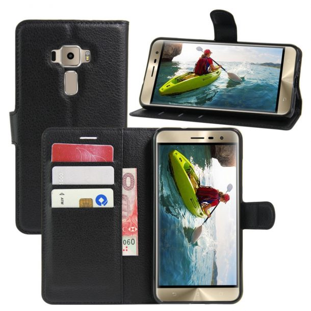 Fettion Premium PU Leather Wallet Flip Phone Case