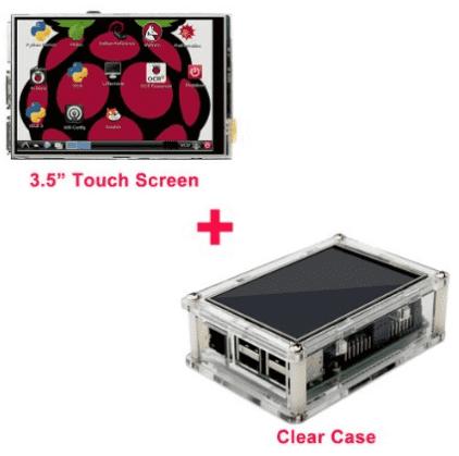 OSOYOO LCD Touch screen Kit Raspberry Pi 2 3 Model B