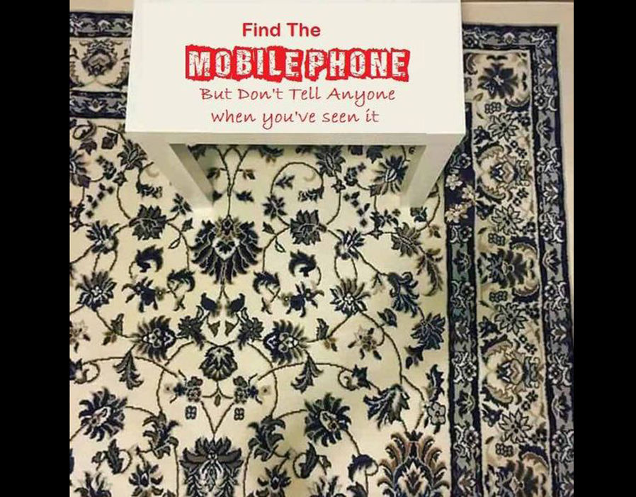 Can You Solve The Cellphone On The Rug Illusion Confusing The Internet