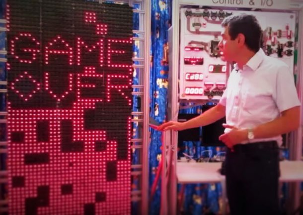 Man Constructs A Computer The Size Of A Room To Play Tetris