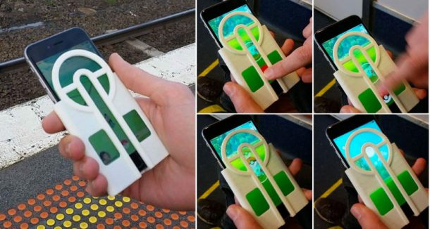 Never Miss Another Pokémon With This 3D Printed Phone Case To Aim Your Pokéballs_Image 1