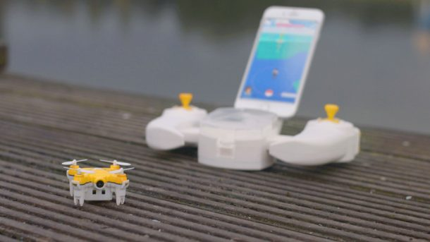 Pokédrone Allows You To Catch Your Pokémon Without Leaving Your Sofa_Image 1