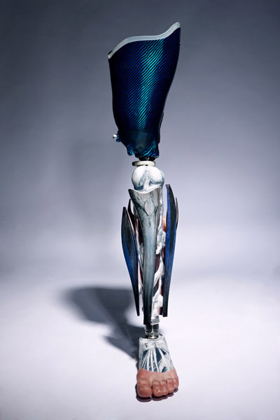 Spiked Leg and Gadget Arms Bring Art To Prosthetic Limbs_Image 6