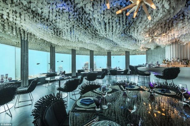 Subsix A Unique Dining 20 Feet Under the Indian Ocean_Image 0