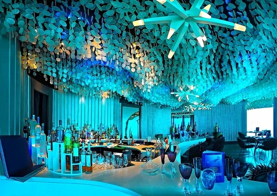 Genial Subsix Restaurant Offers A Unique Dining Experience Underwater In The  Indian Ocean