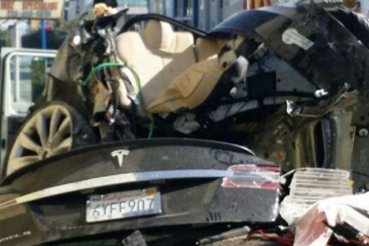 Tesla accident
