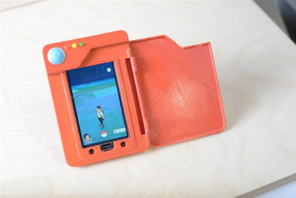 The 3D Printed Pokédex Phone Battery Case Will Enhance Your Pokémon Go Experience_Image 0