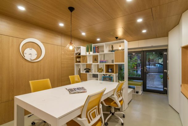 The Romanian Architects Transform A Dingy, Old Garage Into A Dream Office_Image 13