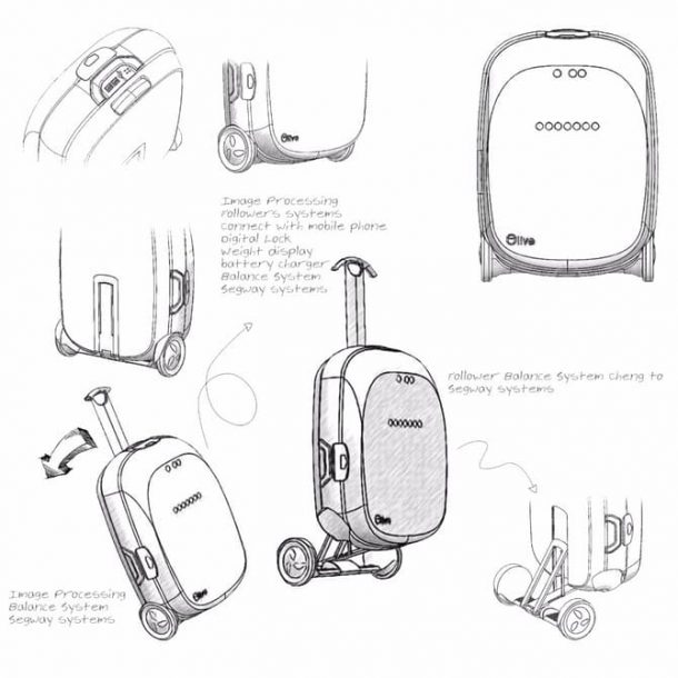 This Smart Suitcase Recognizes Its Owner And Follows Him_Image 3