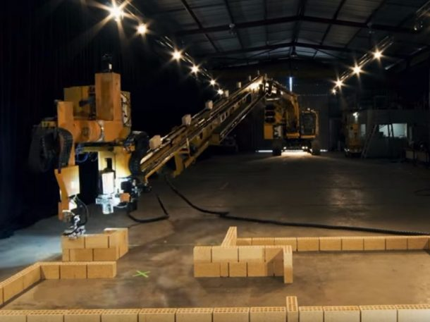 Watch This One-Armed Robotic Civil Engineer Construct A House Four Times Quicker Than A Human_Image 0