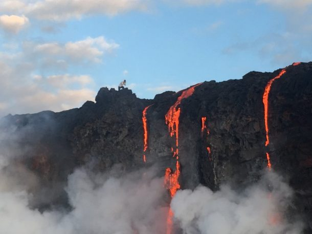 Witness New Land Being Formed As The Molten Lava Flows Into The Ocean In Hawaii_Image 2