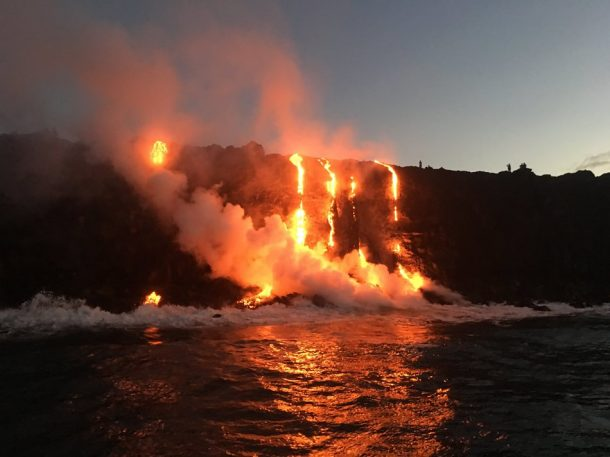 Witness New Land Being Formed As The Molten Lava Flows Into The Ocean In Hawaii_Image 3