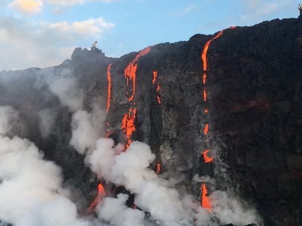 Witness New Land Being Formed As The Molten Lava Flows Into The Ocean In Hawaii_Image 5