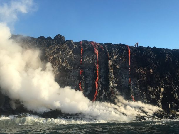 Witness New Land Being Formed As The Molten Lava Flows Into The Ocean In Hawaii_Image 7