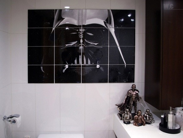 Darth Vader themed bathroom. Credits: HighliteImages
