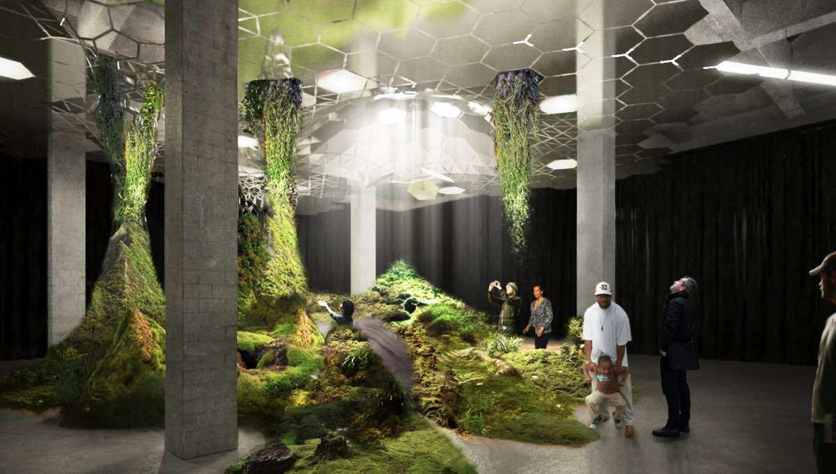 New York Will Soon Have It's First Underground Park