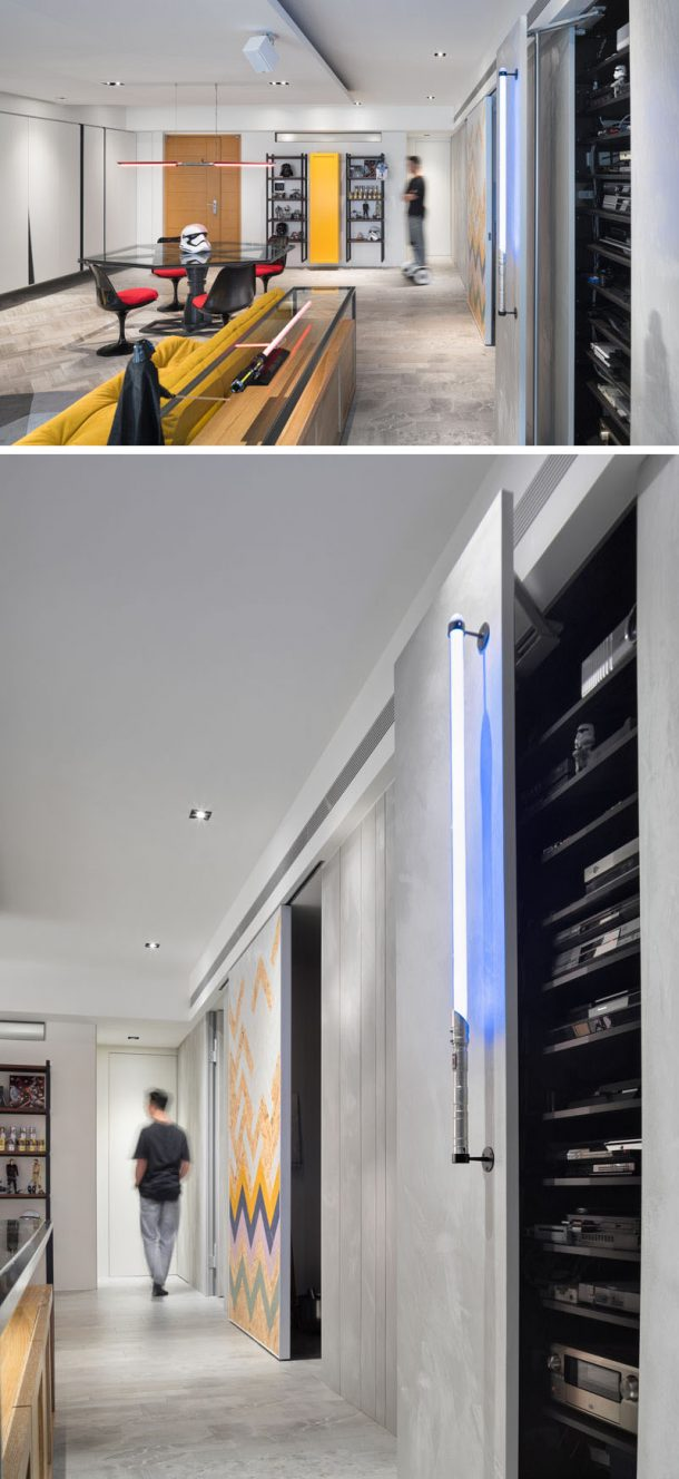 Lightsaber used as a cabinet opener. Credits: HighliteImages