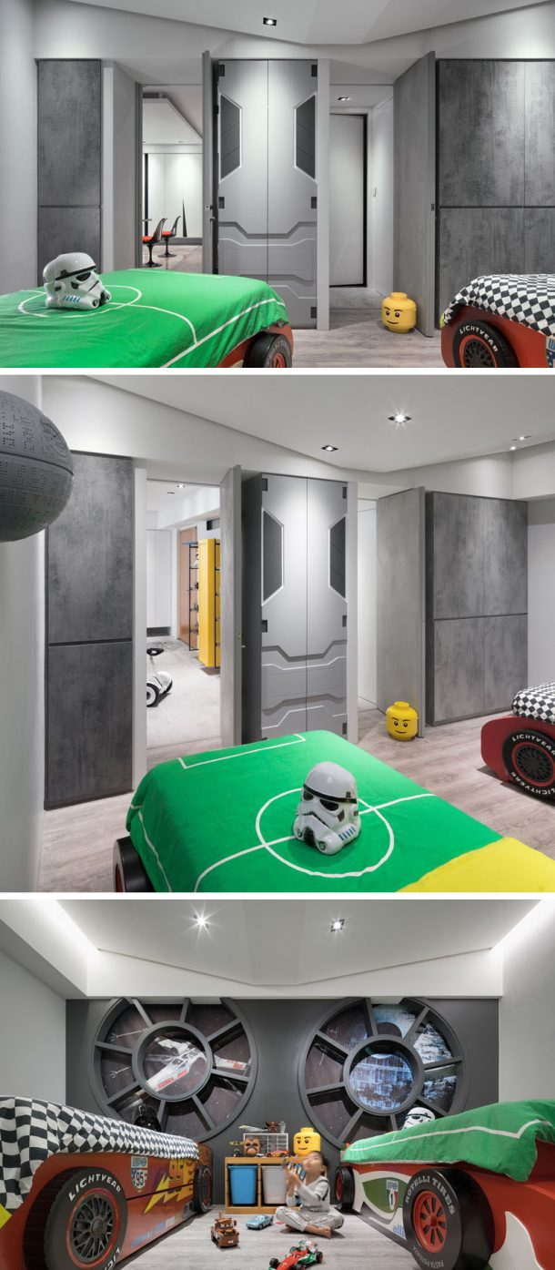 The kid's room has Millennium Falcon theme. Credits: HighliteImages.