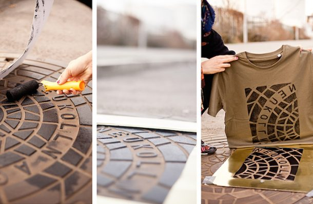 'Pirate Printers' Use Manhole Covers To Print Urban Style Custom T-Shirt Designs_Image 4