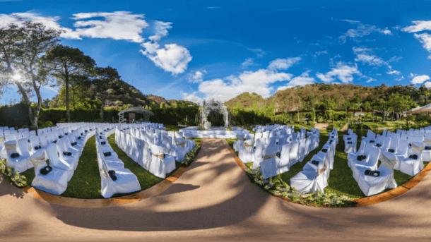 Wedding venue in VR. Credits: mony.cnn.com