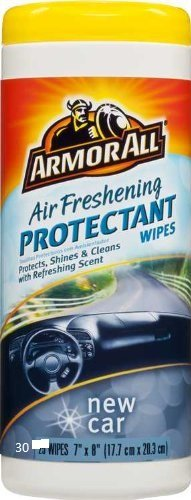 Armor All Air Freshening Protectant Car Wipes Car Interior Cleaners