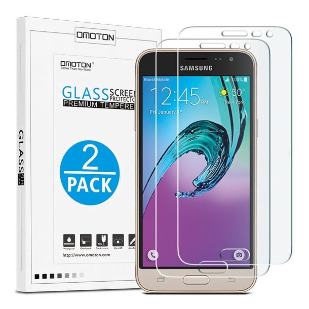Omoton Samsung Galaxy J3 Screen Protector