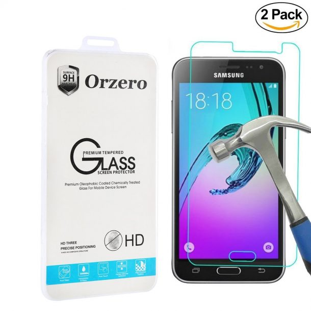 Orzero Samsung Galaxy J3 Screen Protector