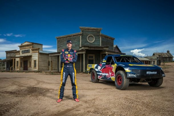 Bryce Menzies poses for a portrait at Red Bull New Frontier at Bonanza Creek Ranch in Santa Fe, New Mexico, USA on 06 August 2016.