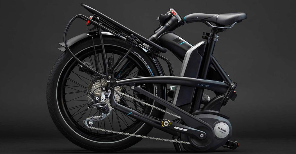 Elektron Is The World's Most Compact Folding Electric Bike