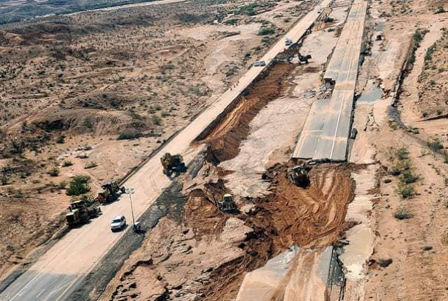I-15 near Las Vegas